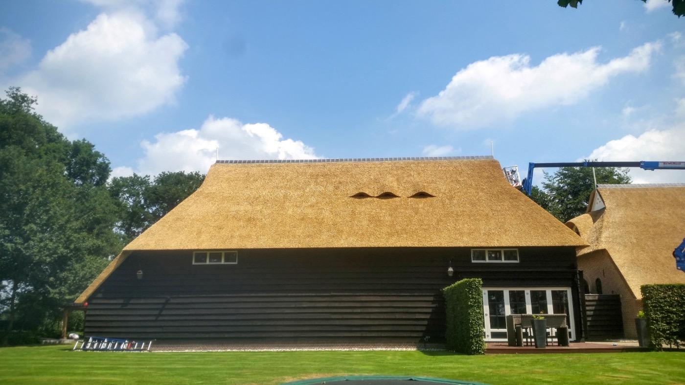 Rieten dak Hoogeveen: Zantingh Rietdekkers